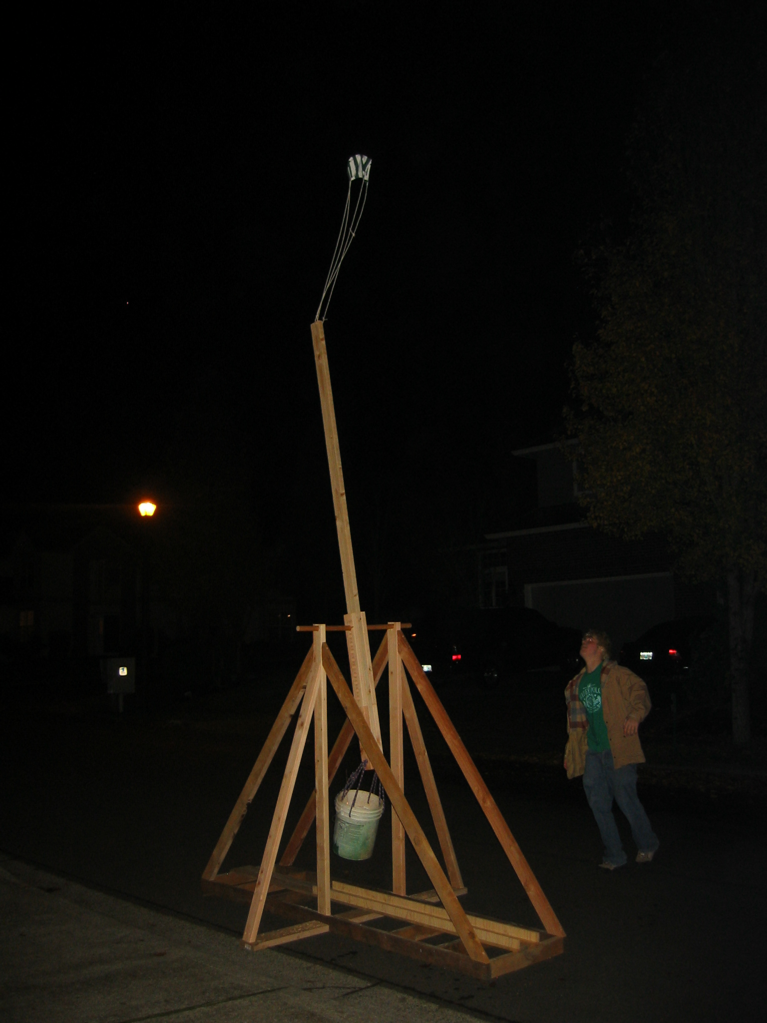 trebuchet research Read the catapult and trebuchet handbook and learn what the project involves o if making a trebuchet, research and design the sling this is sometimes the.