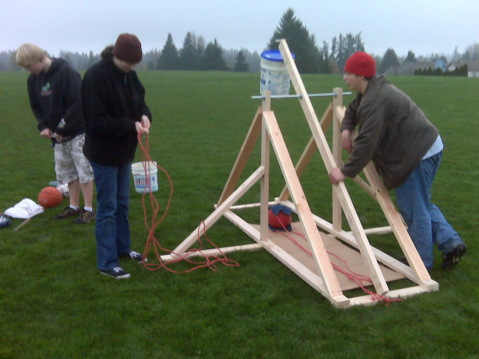 essay on trebuchets A trebuchet is a siege engine that was employed in the middle ages either to smash walls or to throw projectiles over them it is sometimes called a.